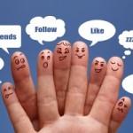 social friendly landing page